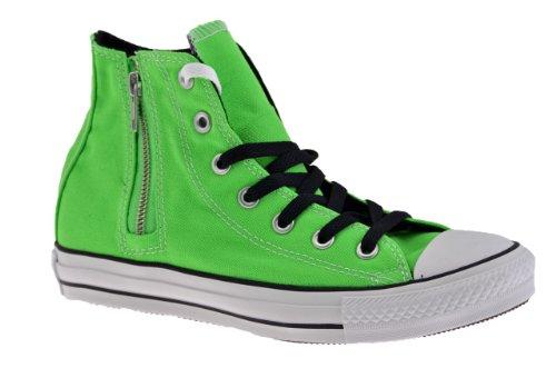Hi Taylor Chuck in Tessuto Hi Verde Scarpe Converse Star Alte 138517C Core Verde Fluo Ixq0BnT1w