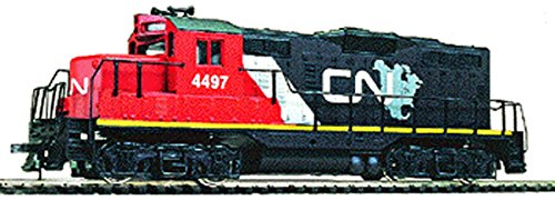 Nose Locomotive Low (Walthers Trainline EMD HO Scale GP9M Ready-to-Run Canadian National)