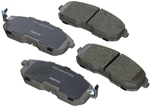 ACDelco 14D653CH Advantage Ceramic Front Disc Brake Pad Set ()