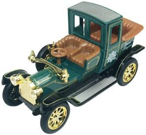 Locomobile Die Cast Pull Back Vintage Classic Toy Car