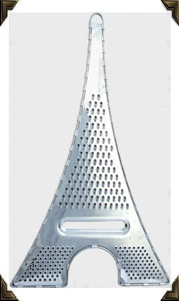 Pylones Stainless Steel Eiffel Tower Cheese Kitchen Grater -Large