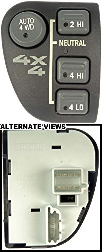 APDTY 012171 Four Wheel Drive Selector Switch - Dash Mount; without/Electric Shift