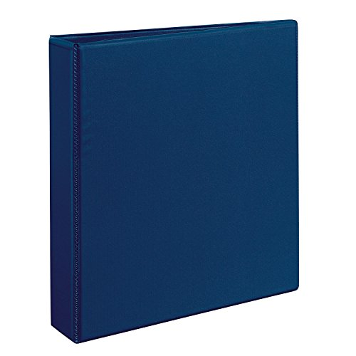 Durable View Binder with Slant Rings, 1'' Capacity, Blue
