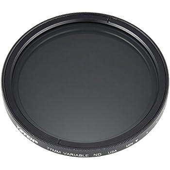 Tiffen 77mm Variable Neutral Density Filter 77VND for Camera lenses