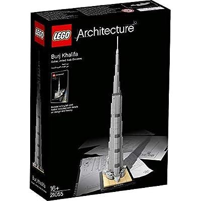 LEGO Architecture 21031: Burj Khalifa Mixed: Toys & Games