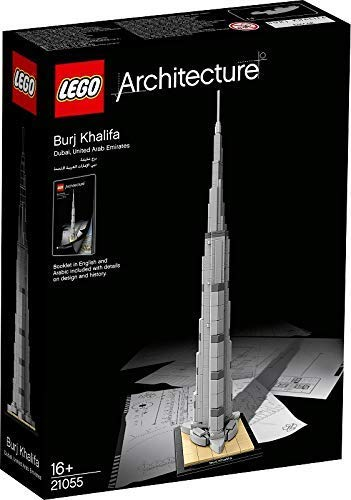 LEGO Architecture 21031: Burj Khalifa Mixed