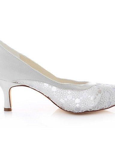 GGX/ Damen-Hochzeitsschuhe-Absätze / Rundeschuh-High Heels-Hochzeit / Kleid / Party & Festivität-Elfenbein 2in-2 3/4in-ivory