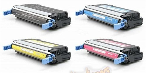 Hp Q5953a Magenta Toner (Cali Toner,LLC Compatible Toner Cartridge Replacement for HP 643A ( Black,Cyan,Magenta,Yellow , 4-Pack ))