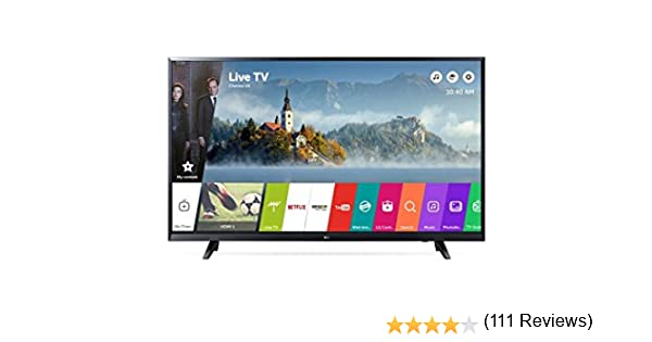 LG 43UJ620V TV LED 4K 43 Pulgadas IPS Smart TV: Amazon.es: Electrónica
