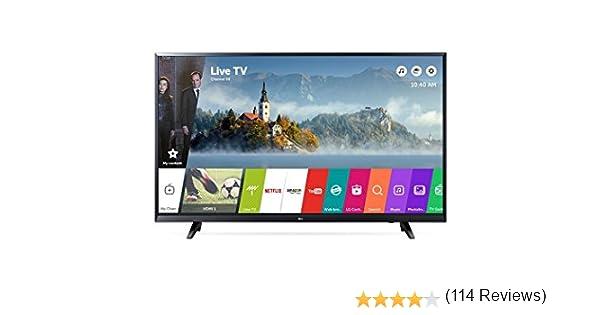 LG 43UJ620V TV LED 4K 43 Pulgadas IPS Smart TV: Amazon.es: Electrónica