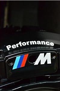 Amazoncom M Performance Brake Caliper Decal Sticker HiTemp - Bmw m brake caliper decals