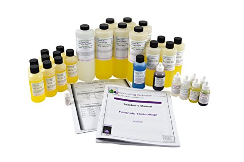 Forensic Toxicology Lab Kit (Materials for 30 Groups of Students)