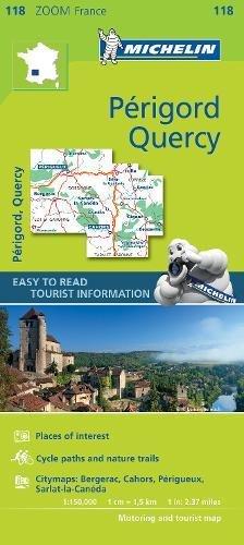 Download Quercy Perigord - Zoom Map 118 (Michelin Zoom Maps) pdf