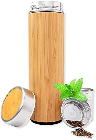 Natural Bamboo Tumbler Infuser Strainer product image
