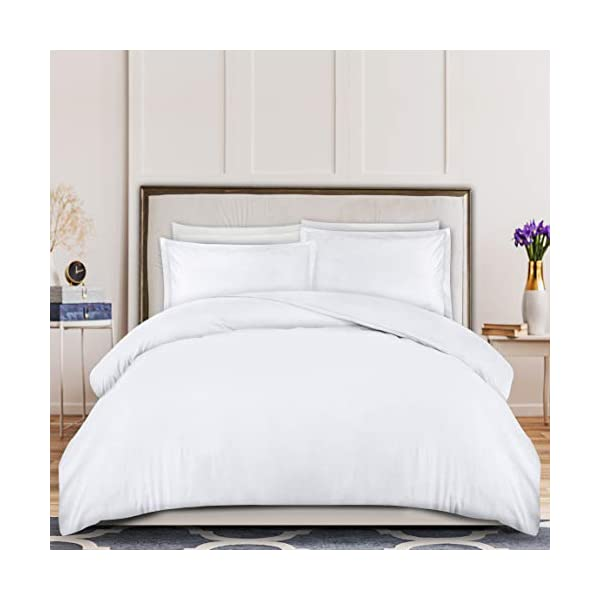 Microfiber Duvet Cover with Zippered Closure