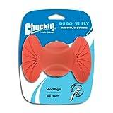 Chuckit! Medium Drag 'N Fly Dog Ball, My Pet Supplies