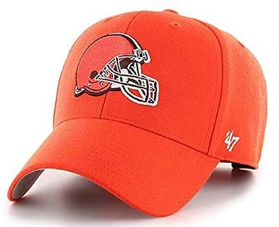 '47 Cleveland Browns MVP Structured Basic Orange Hat Cap Adult Men's Adjustable