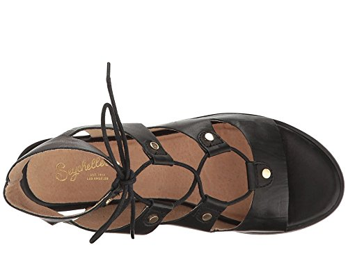 Seychelles Women's Love Affair Dress Sandal, Black, 6.5 M US