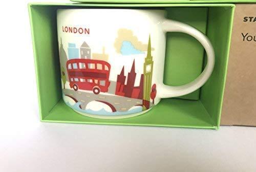- New Starbucks London You are Here Mug Coffee Cup Big Ben Gherkin St Pauls Eye Thames Tower Bridge YAH Coffee Cup