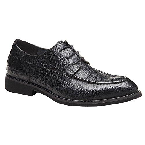 Cap Toe Bal Oxford - MYC Men's Cap Toe Lace up Oxford Dress Shoes