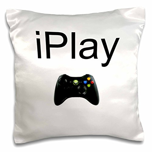 3dRose lettering Background Controller Pillow pc 180064 1