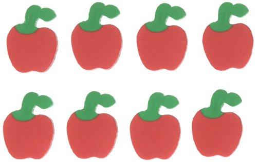 Apple Erasers - U.S. Toy LM179 Mini Apple Erasers