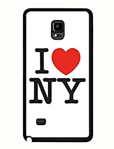 I Love NY Printed Artistic Collection New York Style Samsung Galaxy Note 4 Tough Case yiuning's case wangjiang maoyi