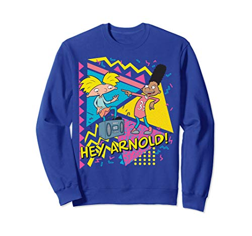 Hey Arnold Gerald Best Friends Boombox Sweatshirt
