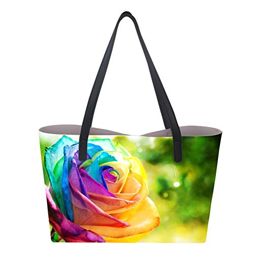 Showudesigns, Borsa a mano donna Large Flower 3
