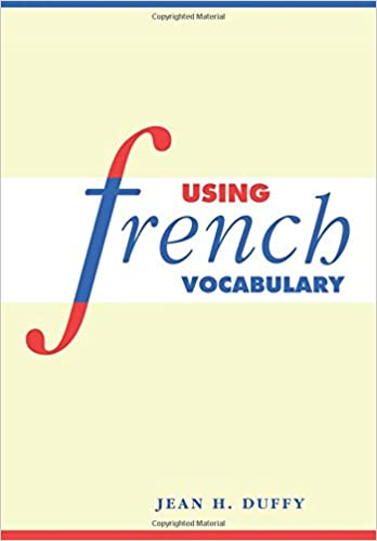 Amazon Com Using French Vocabulary English And French Edition