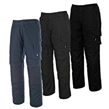 Mascot 10179-154-010-82C56 Houston Trousers, L82cm/C56, Black/Blue