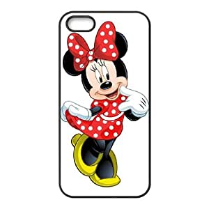 Disney Mickey Mouse Minnie Mouse iPhone 5 5s Cell Phone Case Black NRI5109931