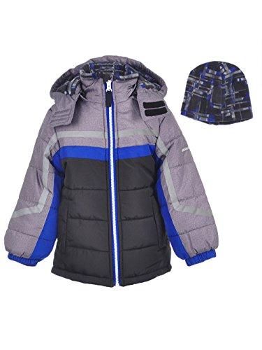06a83f452fd5 Galleon - London Fog Little Boys  Active Heavyweight Jacket With Ski ...