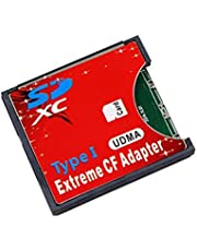 SD MMC SDHC SDXC Slot To CF Type I Compact Flash Memory CF Card Adapter