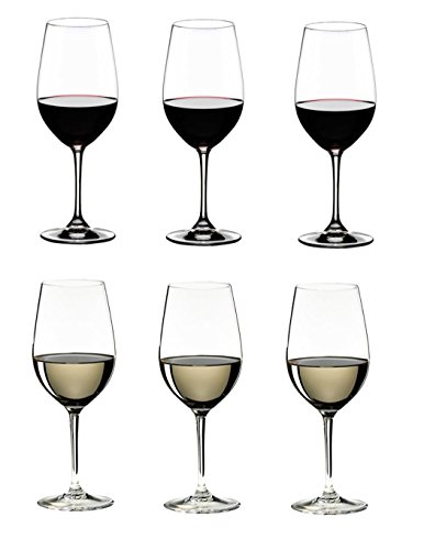 Riedel 260 Years Celebration, VINUM Riesling/Zinfandel Glasses, Set of 6 ()
