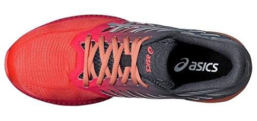 Asics fuzeX Zapatillas de running mujeres negro 2016Zapatillas de deporte, DivaPink/White, 8,5 UK