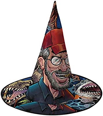 NUJSHF Steven Spielberg Películas Tribute Bruja Sombrero Halloween ...