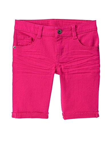 Crazy 8 Little Girls' Bermuda Short, Beetroot Purple, 7 (Bermuda Slim Shorts)