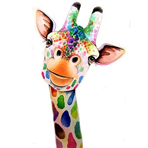 (5D Diamond Painting Kit Giraffe DIY Rhinestone Embroidery Cross Stitch Arts Craft for Home Wall Decor 11.8 x 15.8 inch)