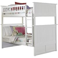 Nantucket Bunk Bed, Twin Over Twin, White