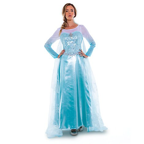 Disney D23 Official Queen Elsa Adult Costume Size 10 Limited Edition 1 of 150  sc 1 st  Amazon.com & Amazon.com: Disney D23 Official Queen Elsa Adult Costume Size 10 ...