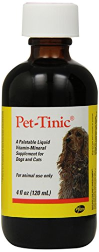 Pfizer Animal Pet-Tinic Vitamin-Mineral