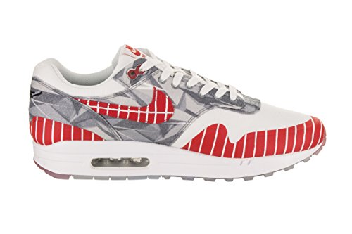 NIKE Men's Air Max 1 Lhm Casual Shoe White/University Red from china free shipping best WQFzm20a