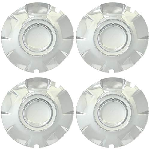 BB Auto Set of 4 NEW 20 inch Chrome Wheel Hub Center Caps Replacement for 2004-2007 Chevrolet Silverado SS Chevy Super - 2007 Chevrolet Ss