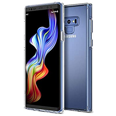 Trianium Clarium Series Galaxy Note 9 Case with Reinforced Corner TPU Cushion and Hybrid Rigid Clear Back Plate Protection for Samsung Galaxy Note9 Phone (2018)