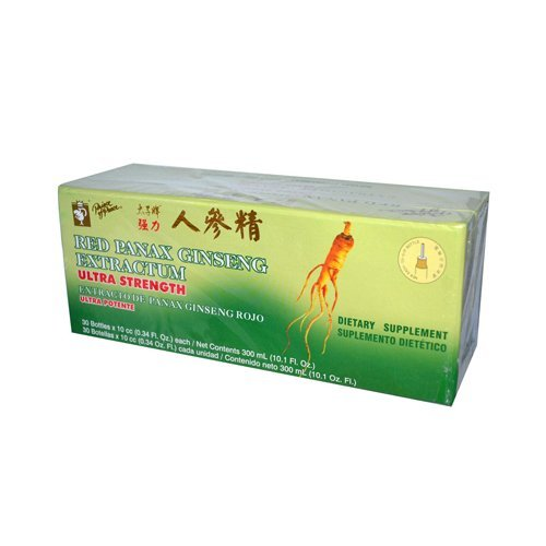 (Pack of 5 x Prince of Peace Red Panax Ginseng Extractum Ultra Strength - 30 Vials by Prince Of Peace)