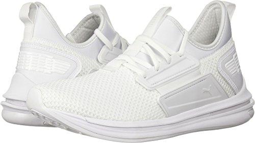 PUMA Men's Ignite Limitless SR Sneaker, White, 10.5 M US