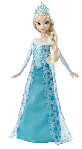 Mattel Disney Frozen Sparkle Princess Elsa Doll ()