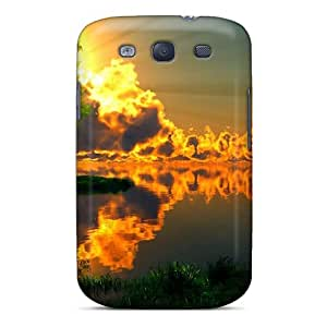 LmbZpAy3220sAhQK Glowing Sunset Awesome High Quality Galaxy S3 Case Skin