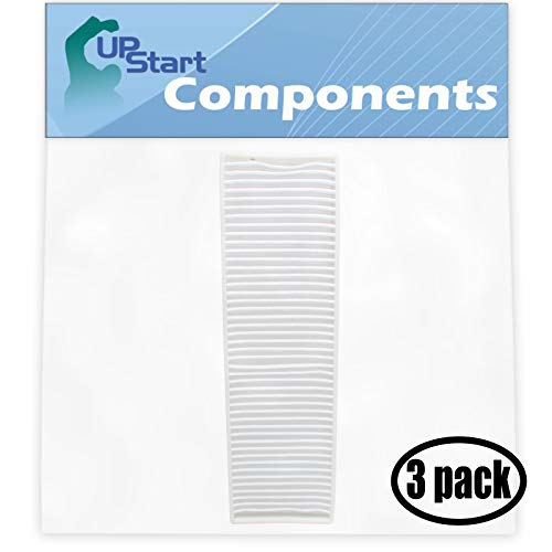 UpStart Battery 3-Pack Replacement for Bissell 3576-6 Vacuum Pleated Post Motor Filter with 7-Piece Micro Vacuum Attachment Kit - Compatible with Bissell Style 7, 9, 16, 32076 HEPA Filter